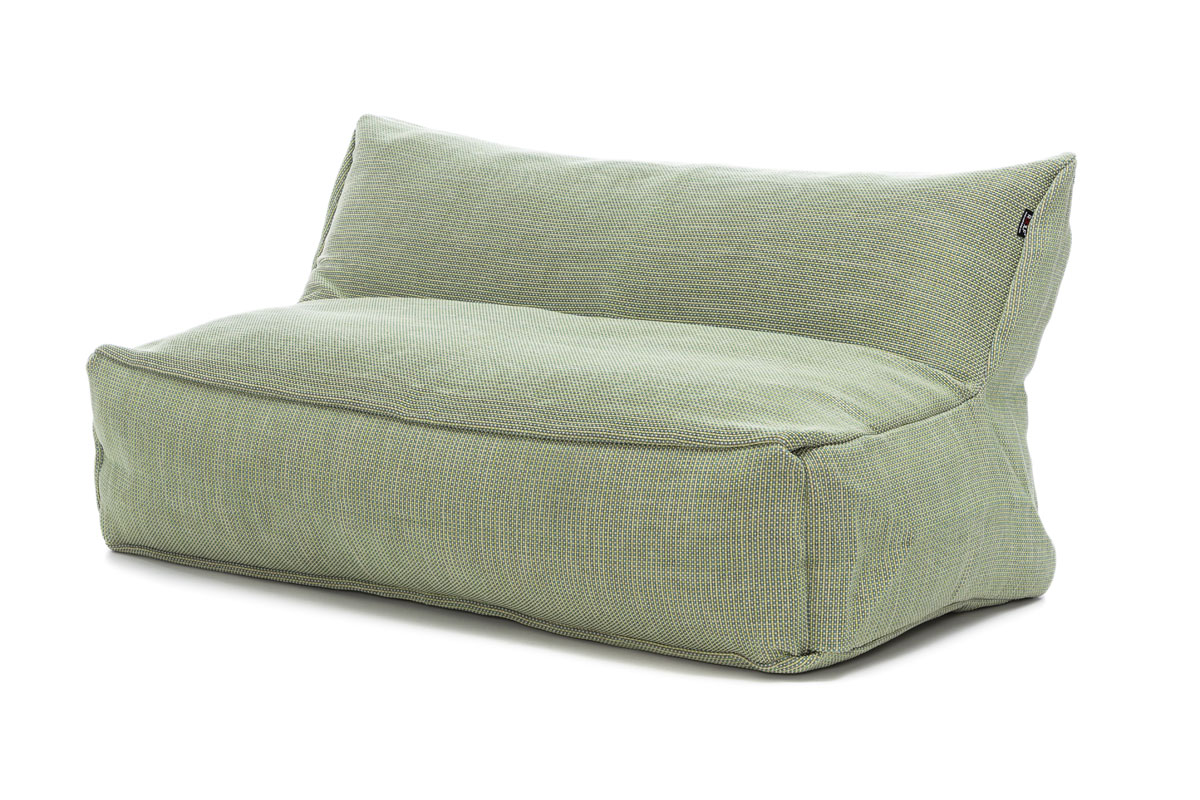 Dotty Loveseat lime